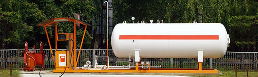 HORIZONTAL LPG STORAGE TANKS